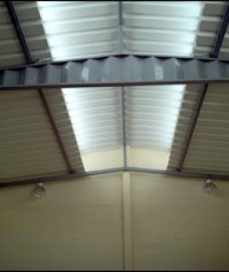 coberturas com estruturas metalicas